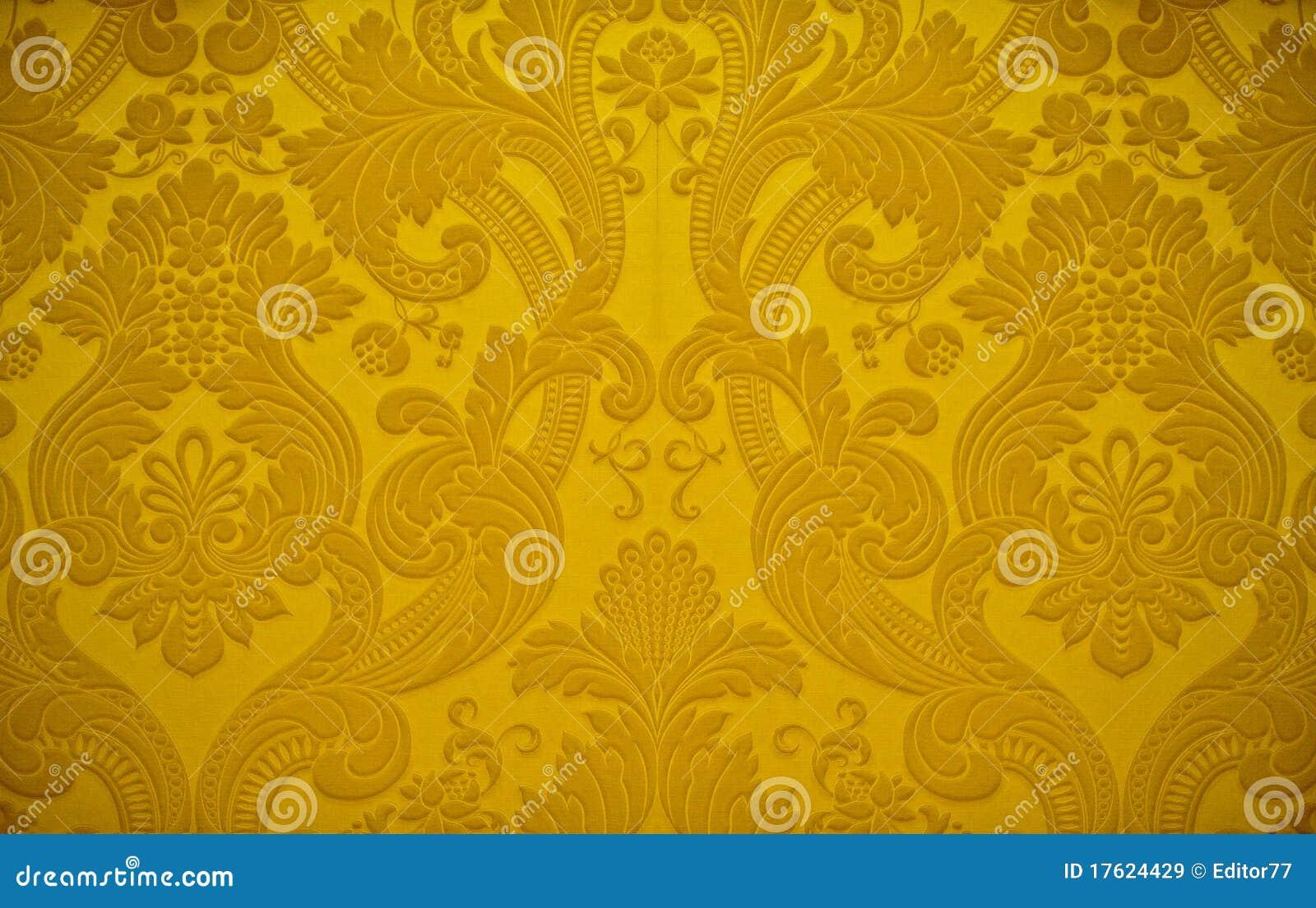 Goldene Beschaffenheits Tapeten Dekoration Lizenzfreie