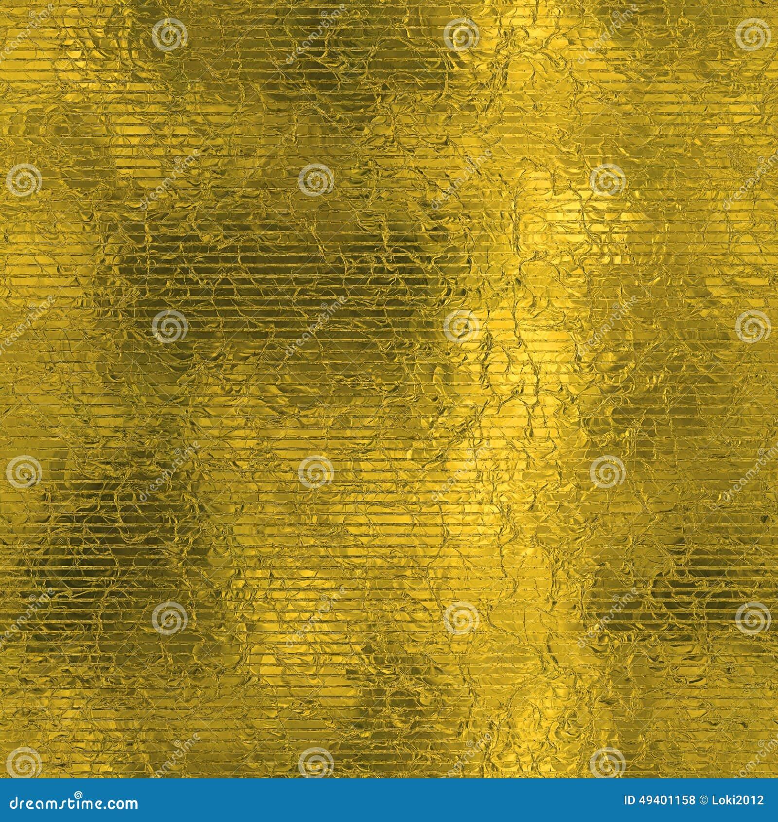 Download Goldene Folie Beschaffenheit Des Nahtlosen Und Tileable Luxushintergrundes Funkelnder Feiertag Geknitterter Goldhintergrund Stockfoto - Bild von glänzend, reflexion: 49401158