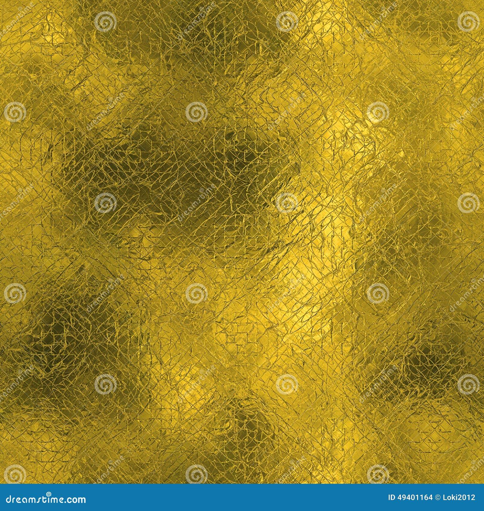 Download Goldene Folie Beschaffenheit Des Nahtlosen Und Tileable Luxushintergrundes Funkelnder Feiertag Geknitterter Goldhintergrund Stockfoto - Bild von glatt, gold: 49401164