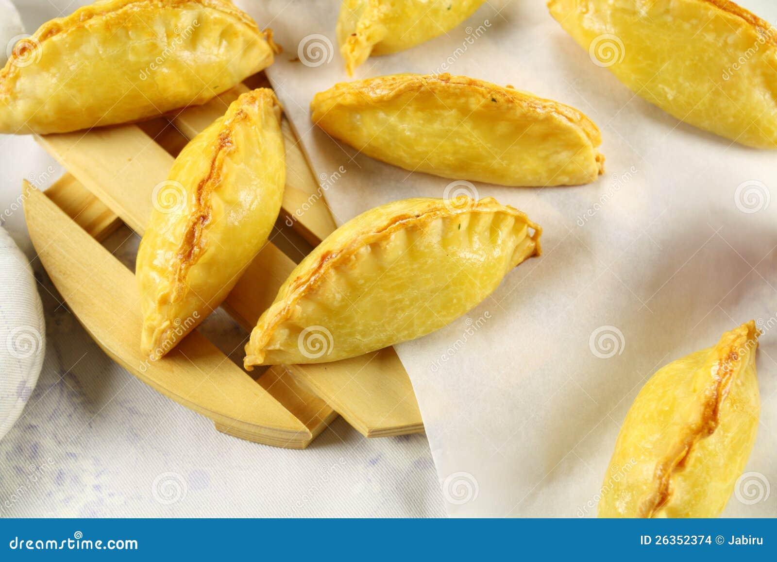 Goldene kornische Pasteten