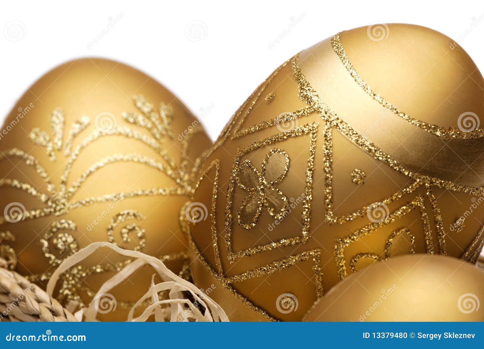 Goldene Ostereier