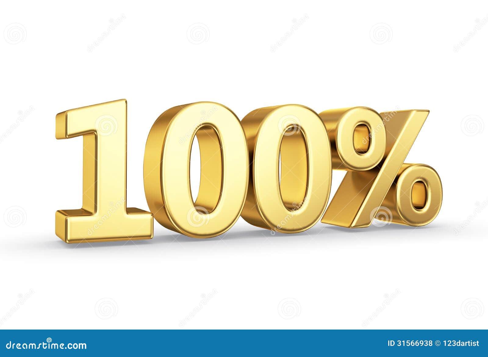 100 Prozent