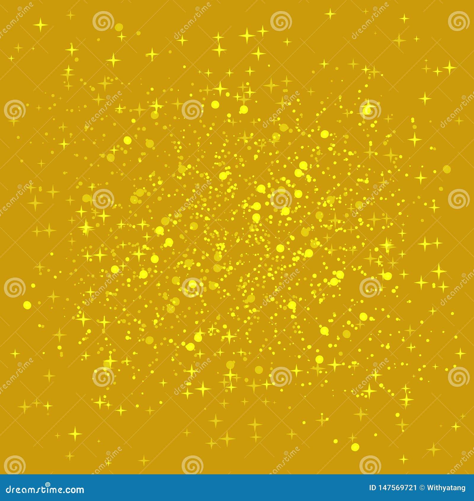 Goldener gl?nzender Hintergrund Goldpaillettehintergrund Der goldene Schein auf der Grenze der Liebesform