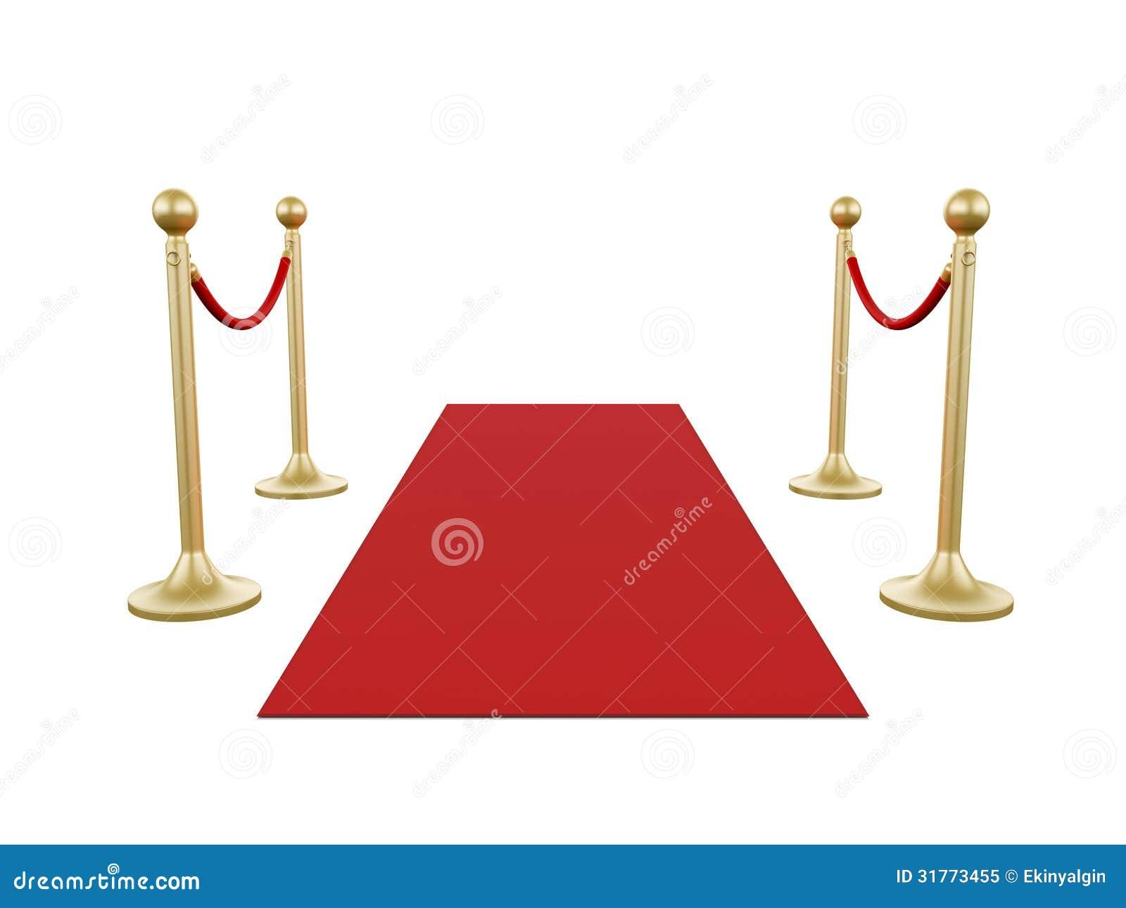 goldener pfosten und roter teppich lizenzfreies stockfoto. Black Bedroom Furniture Sets. Home Design Ideas