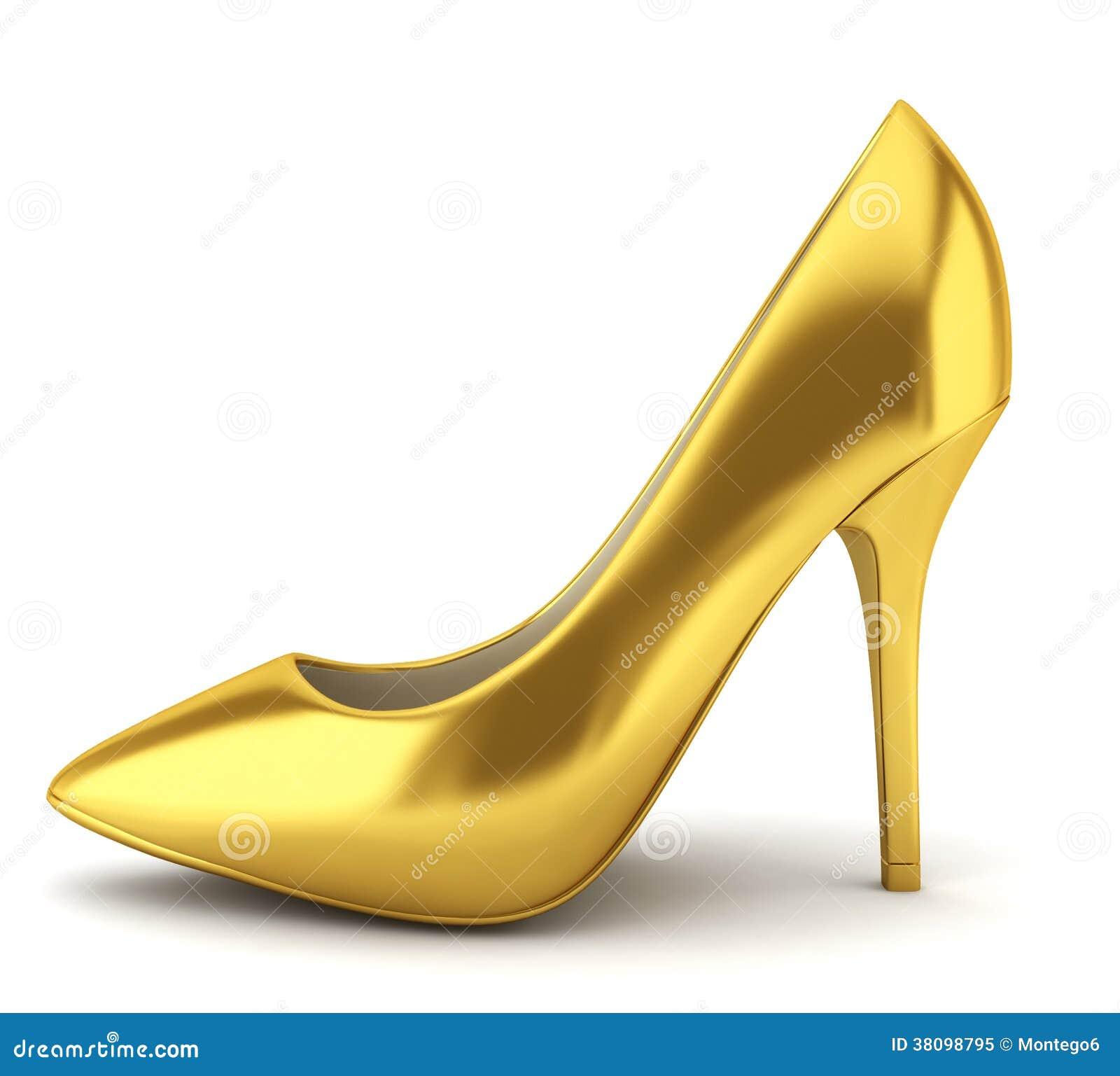 High Heel Shoe Vector Art