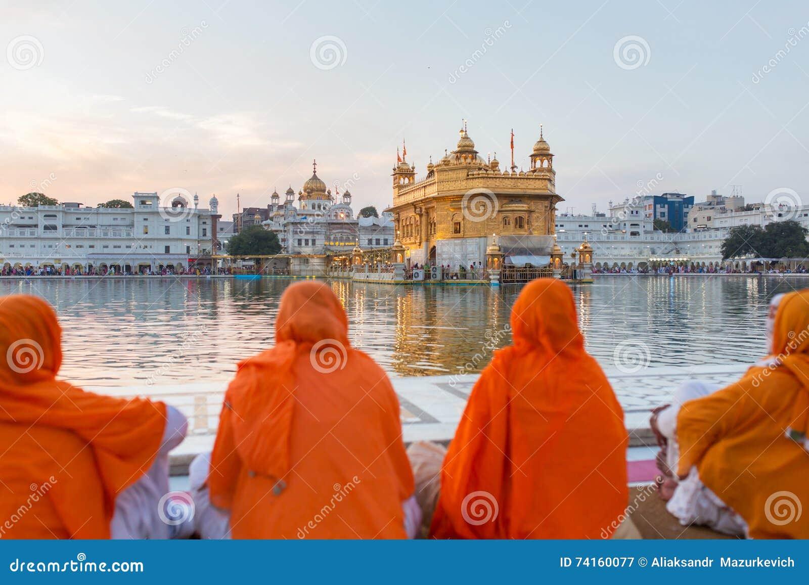 Goldener Tempel in Amritsar, Punjab, Indien