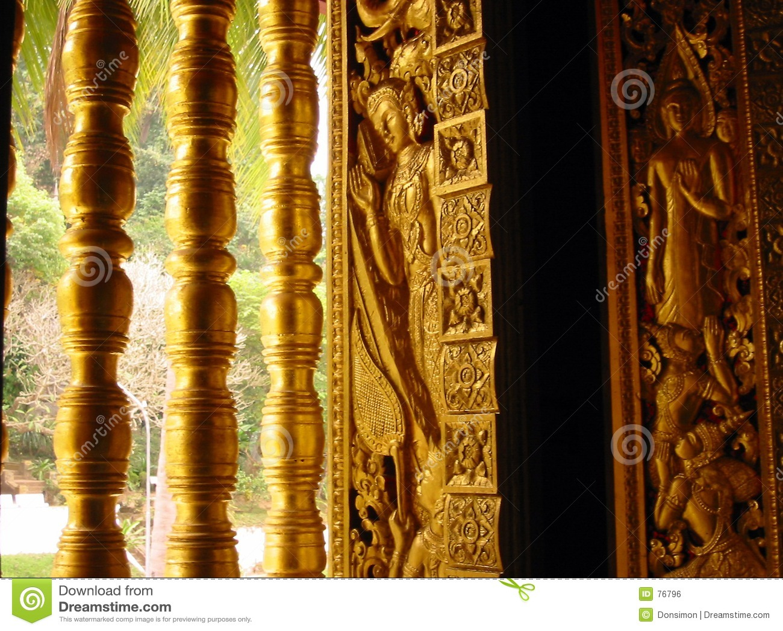 Goldenes Fenster