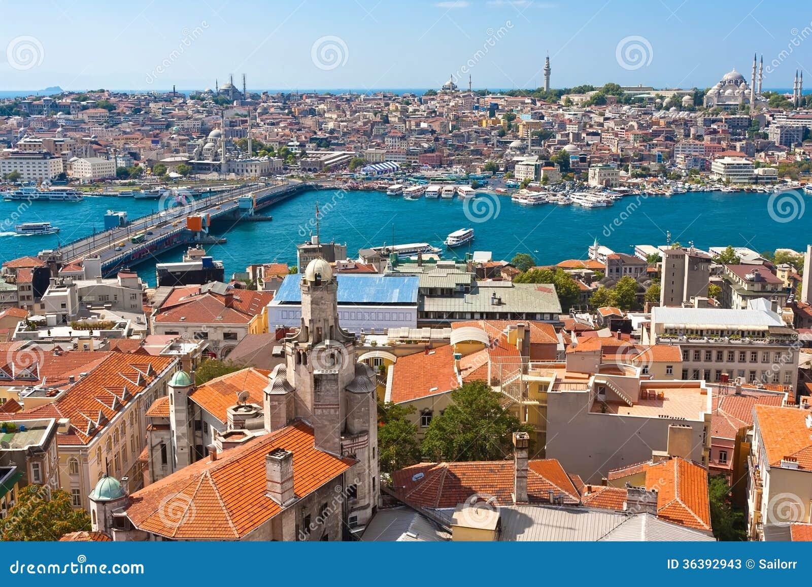 Goldenes Horn in Istanbul