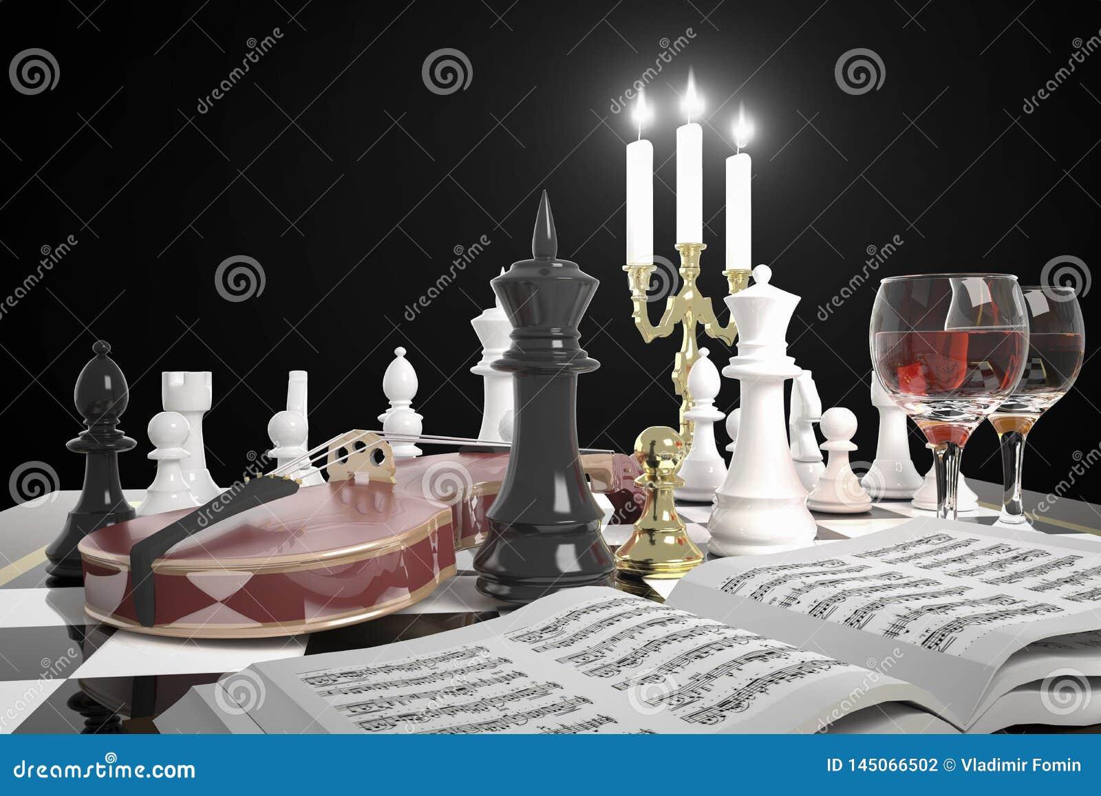 Goldenes Schachpfand