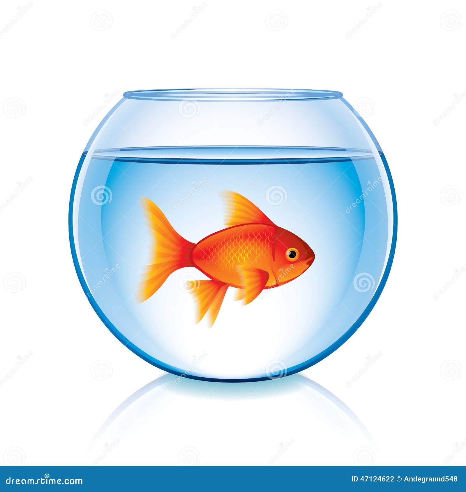 Goldfish Fish Bowl Clip Art Royalty Free Stock Photo - Image: 2741595