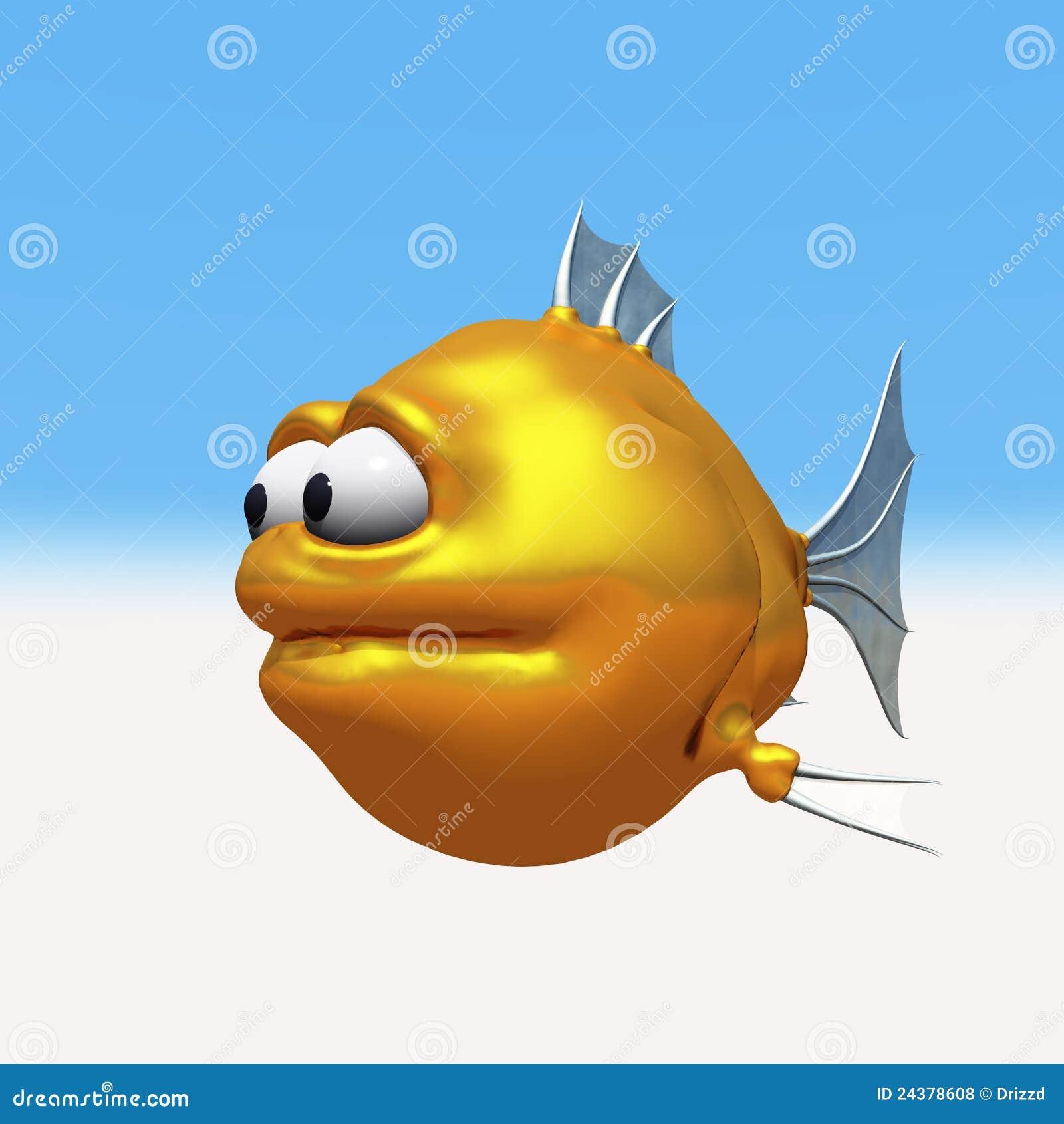 Goldfish extraño