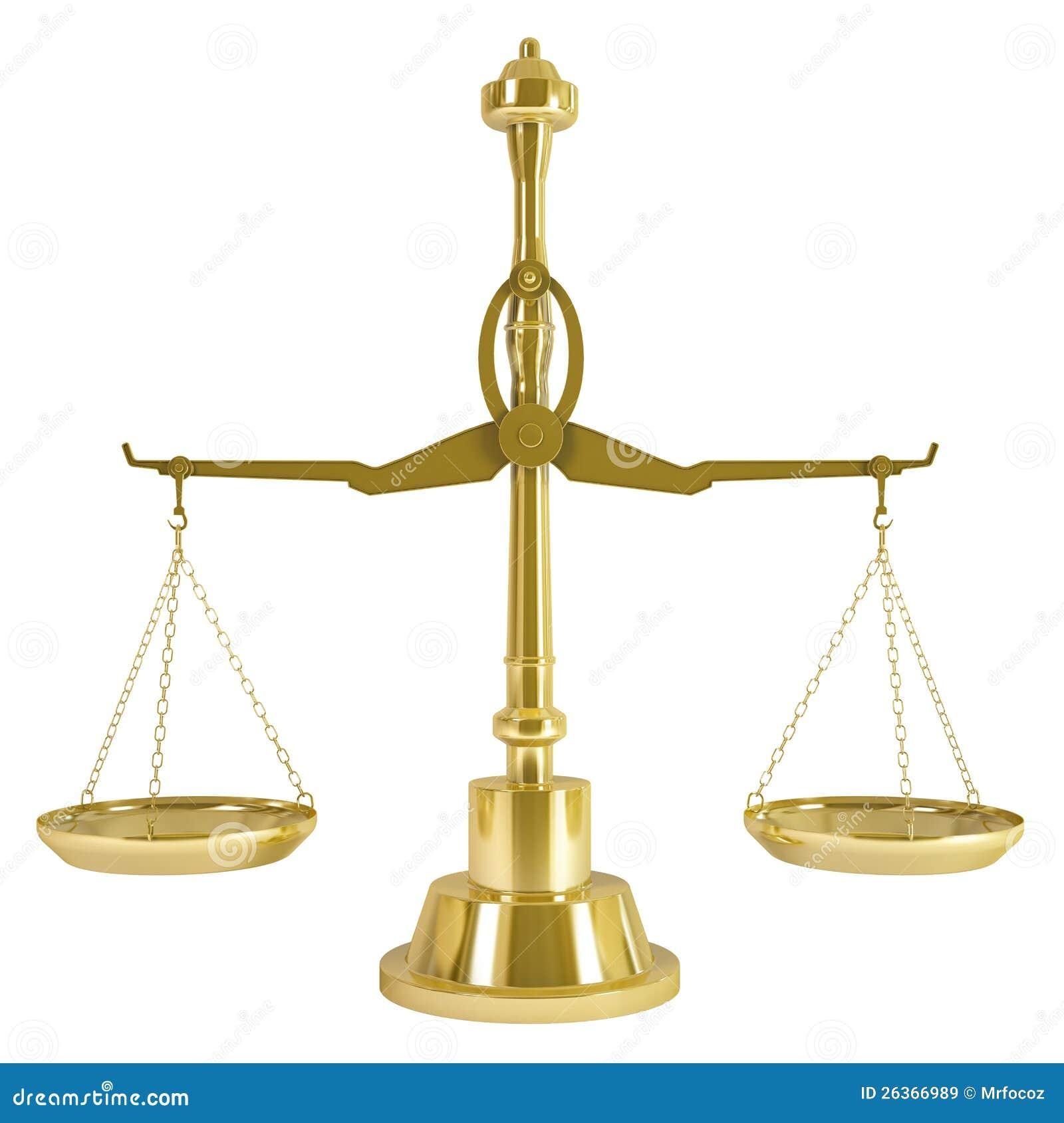 Goldgewicht-Skala