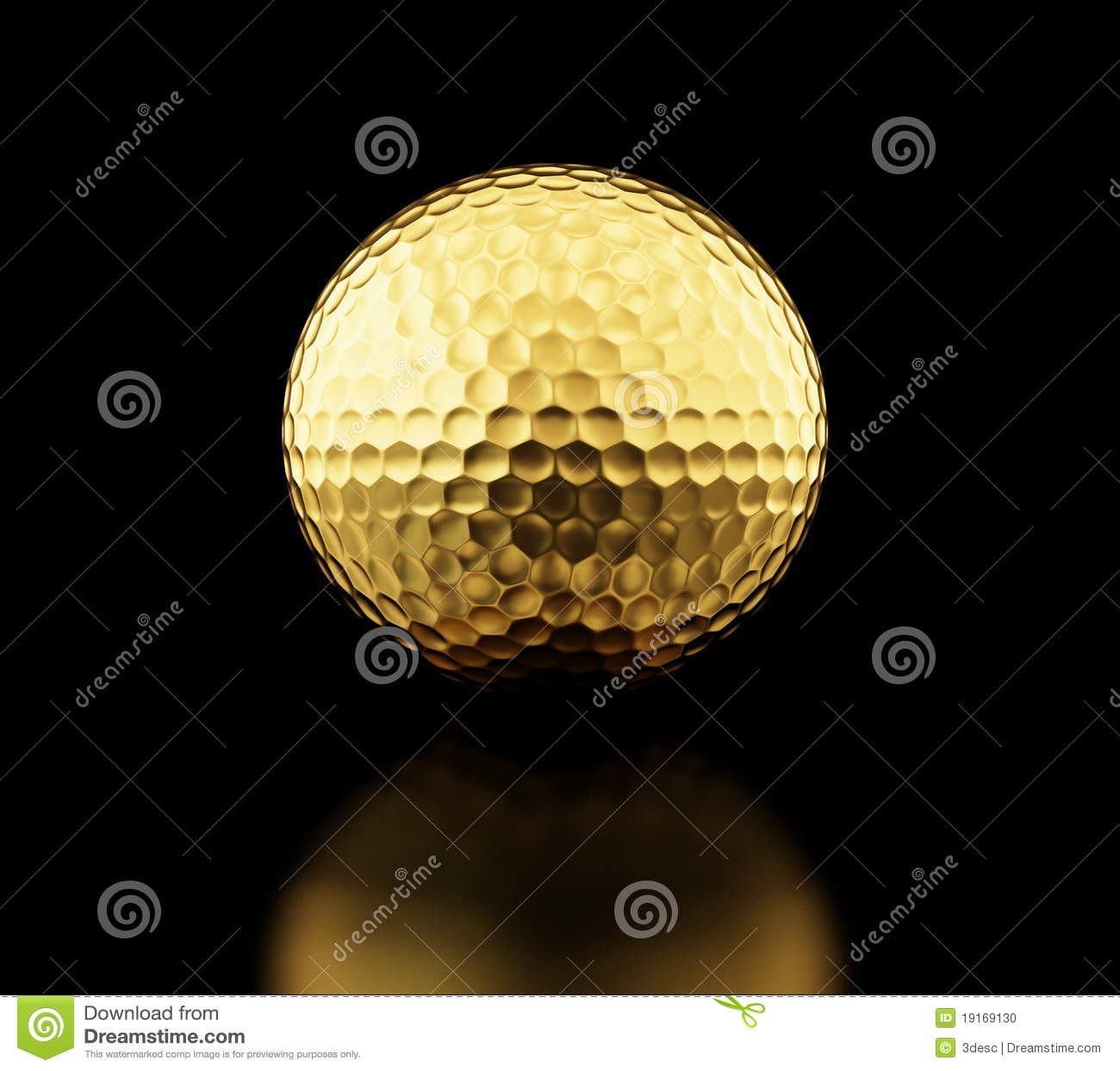 GoldGolfball