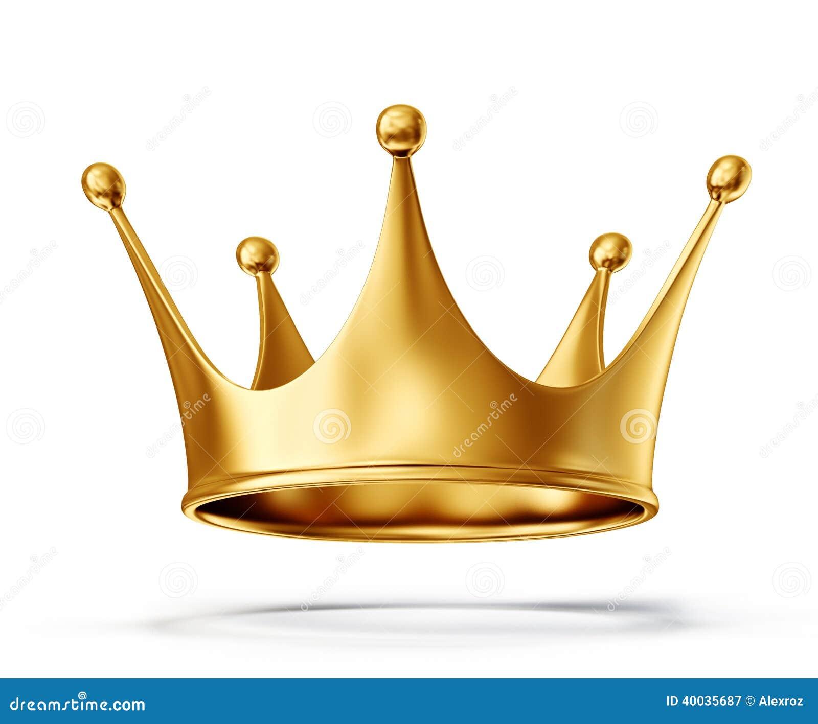 Goldkrone stock abbildung bild 40035687 - Clipart couronne ...