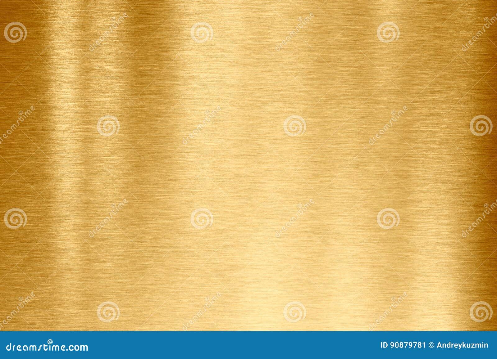 Goldmetallbeschaffenheit