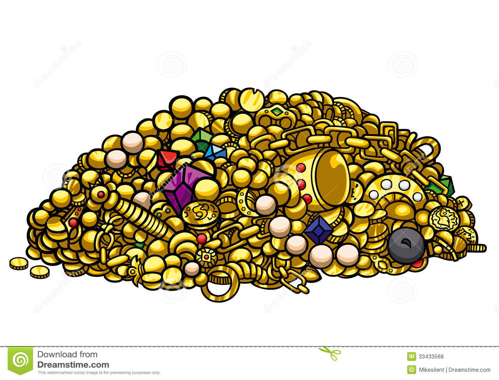 Gold nugget clip art