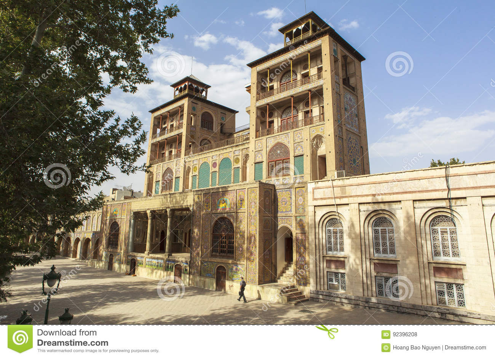 Golestan slott i Teheran, Iran