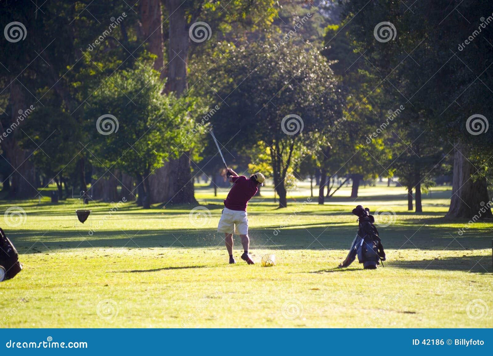 Golf övning