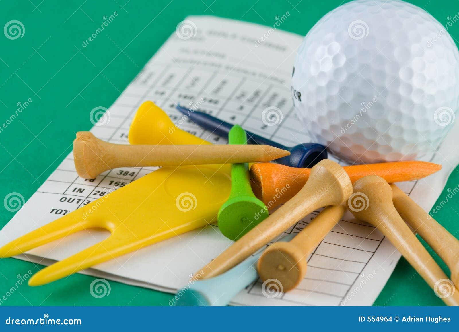 Golf-Ausrüstung