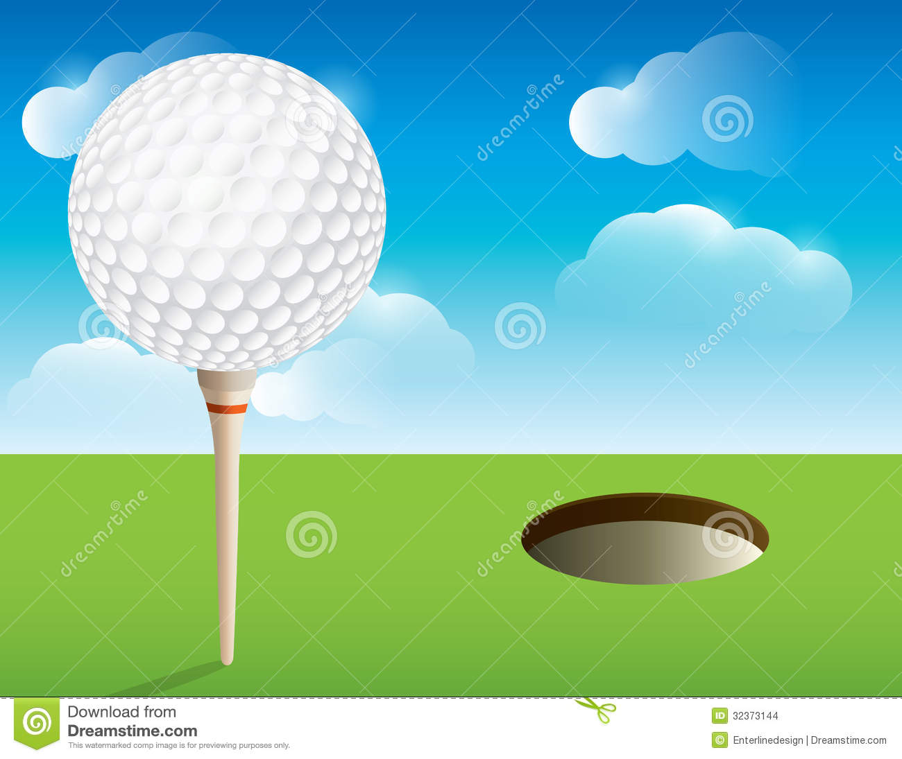 golf background stock illustration illustration of background