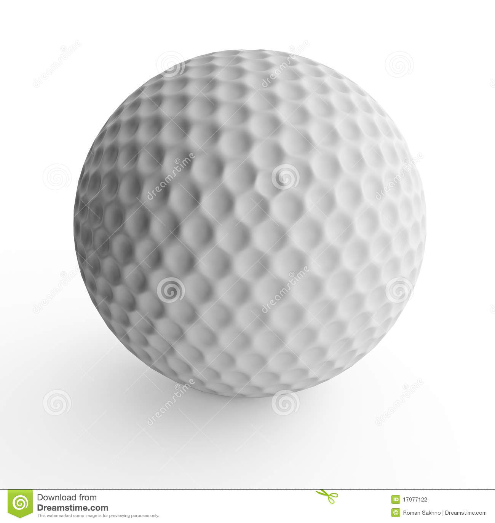 Golf Ball Stock Photography - Image: 17977122 Golf Ball On Tee Clipart
