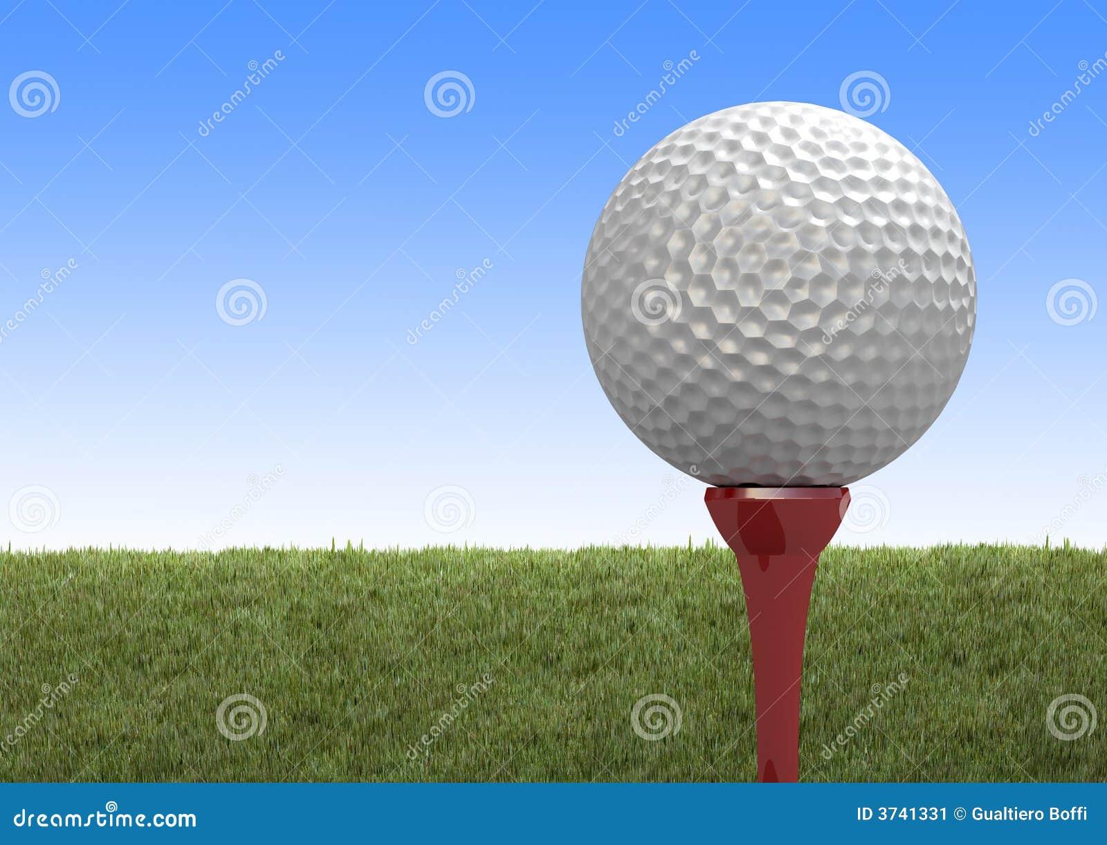 Golf ball stock image image 3741331 for Fish food golf balls