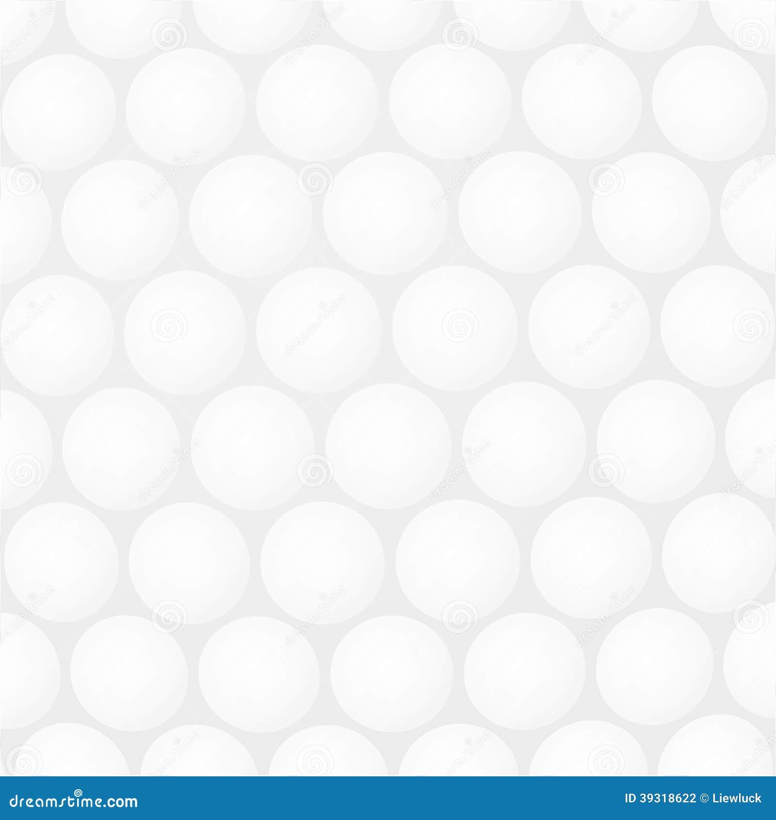 golf ball background stock vector illustration of