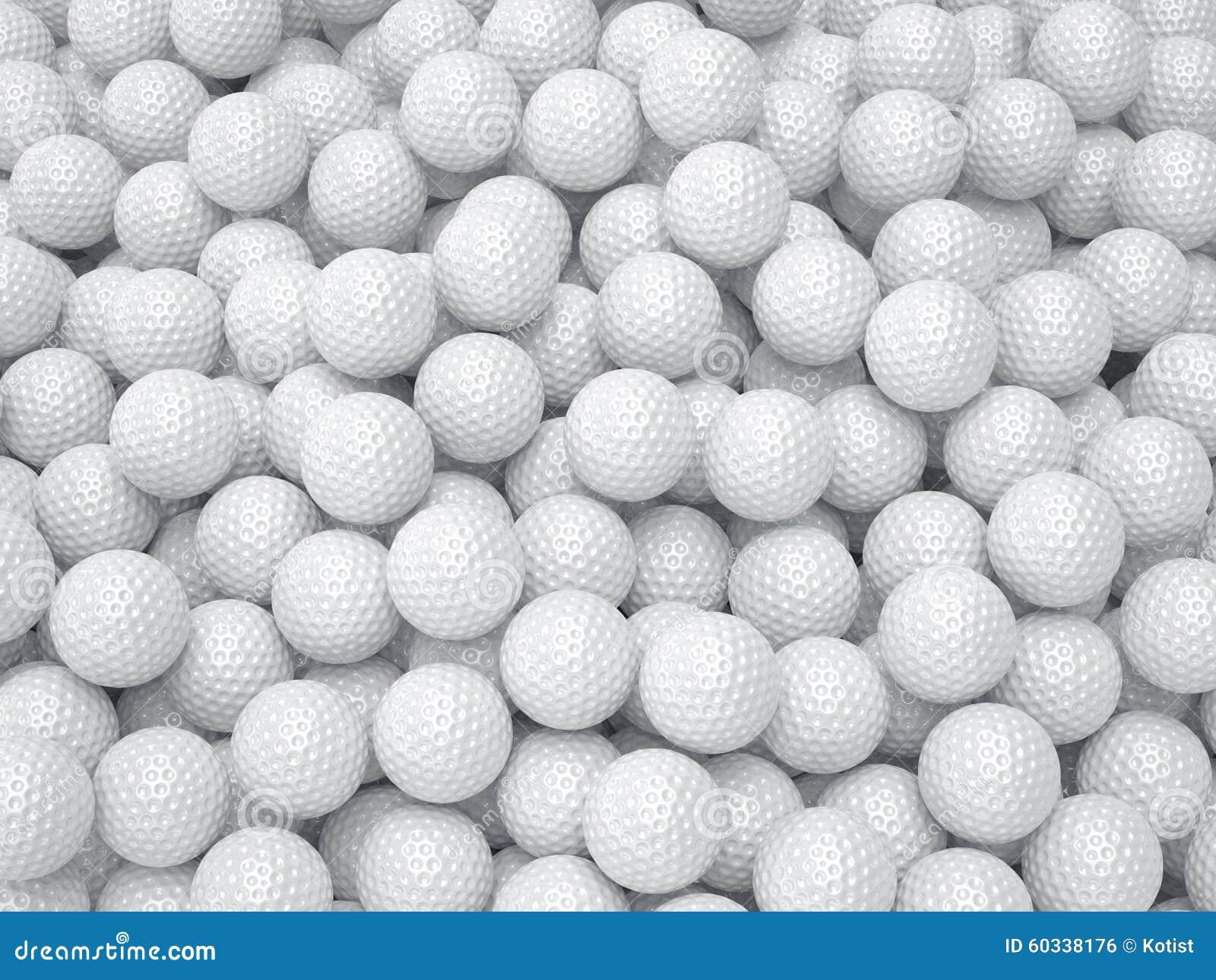 Golf Ball Texture Wallpaper