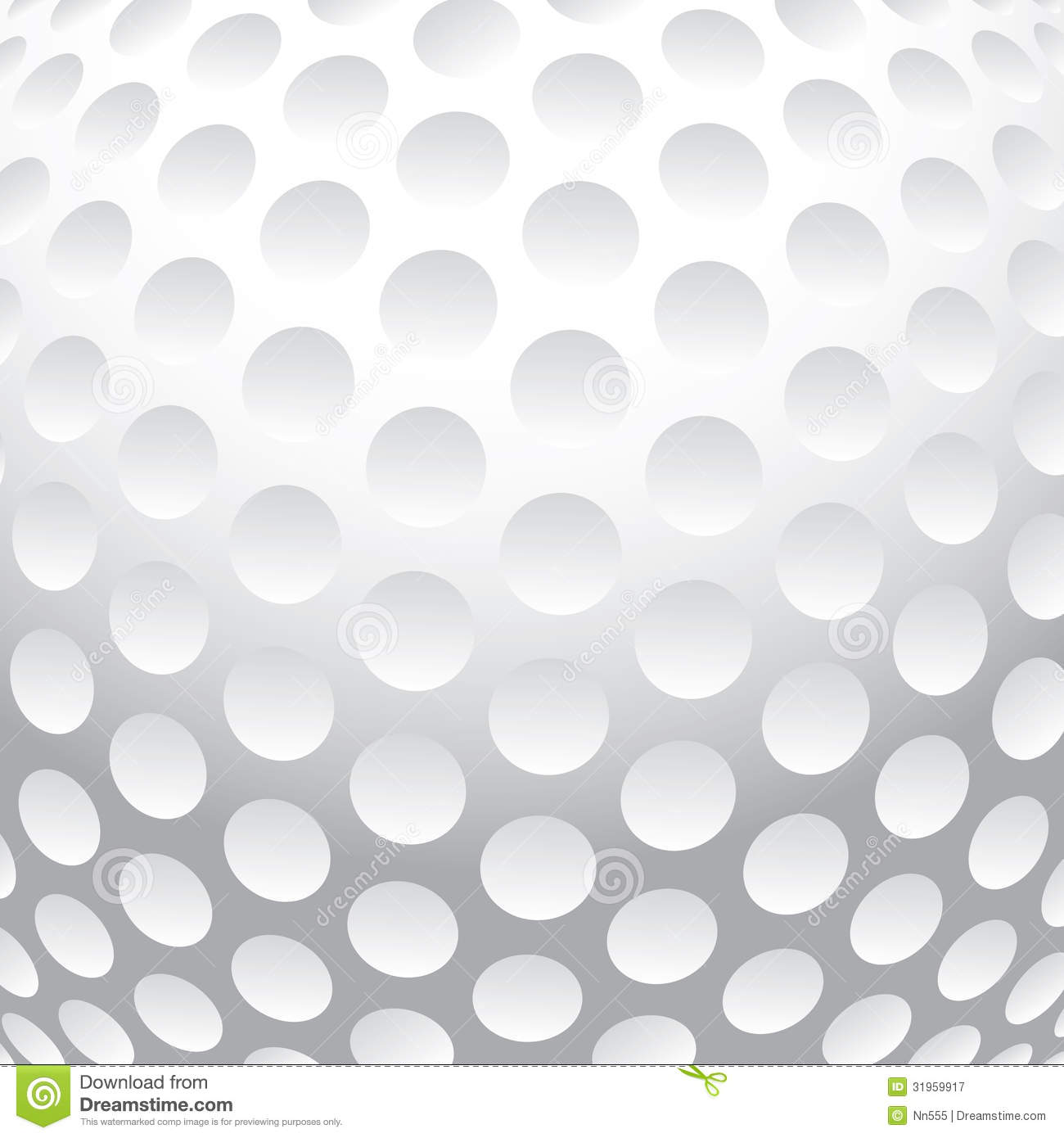 Vector illustration of an abstract golf ball background Golf Ball Background