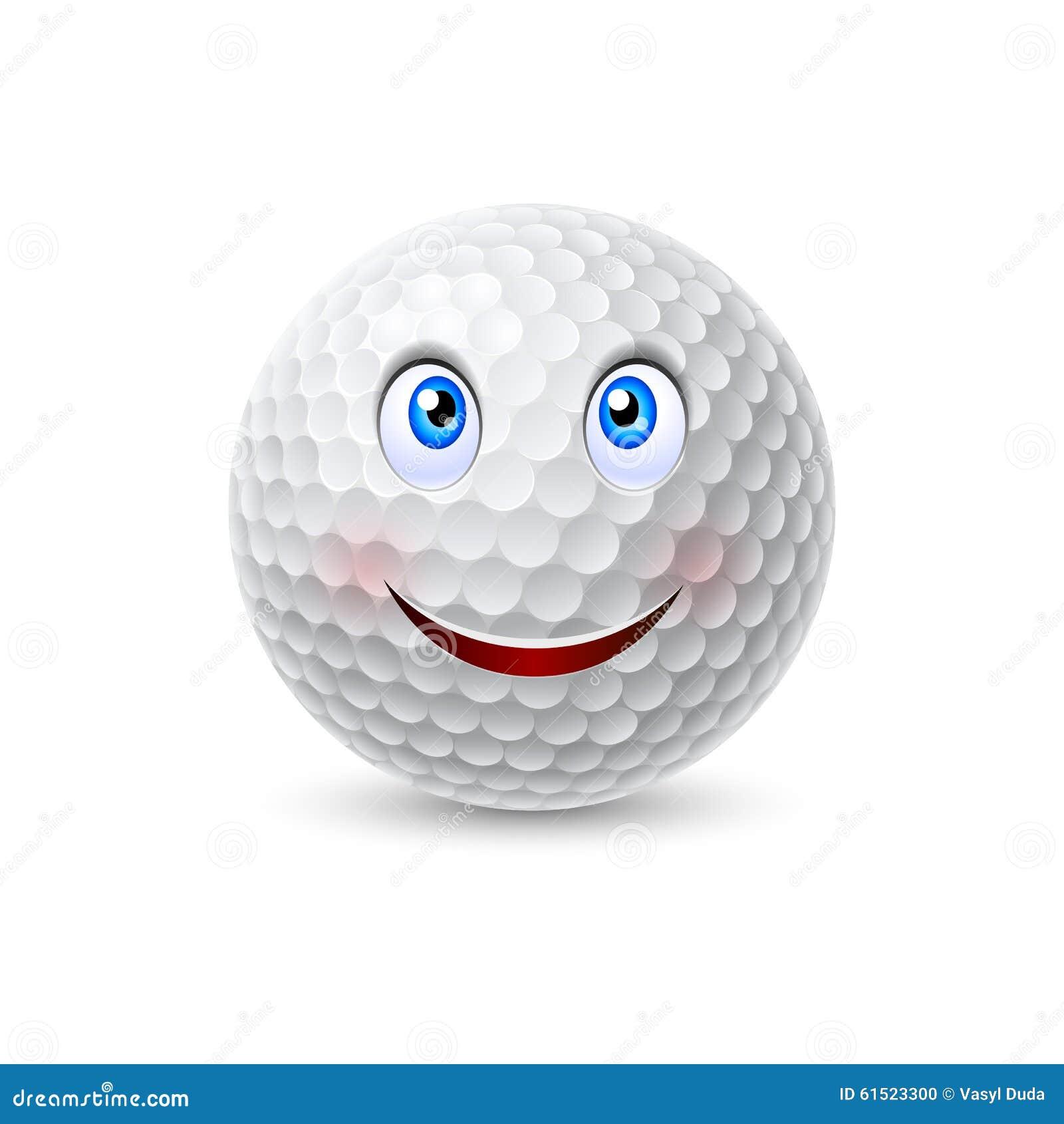 golf ball cartoon character stock vector image 61523300 vector golf ball problem golf ball vector icon