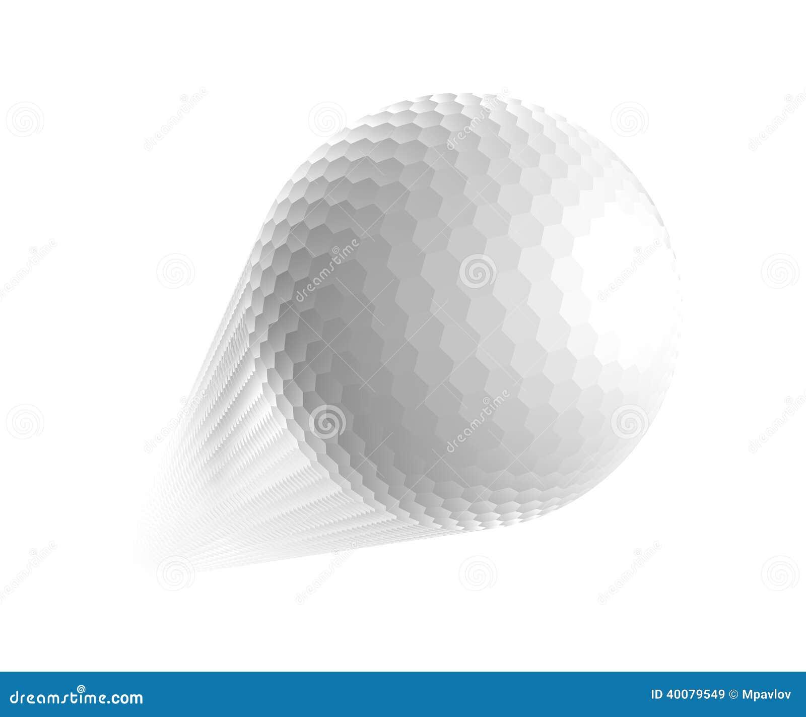 Golf Ball. Stock Vector - Image: 40079549 Golf Ball On Tee Clipart