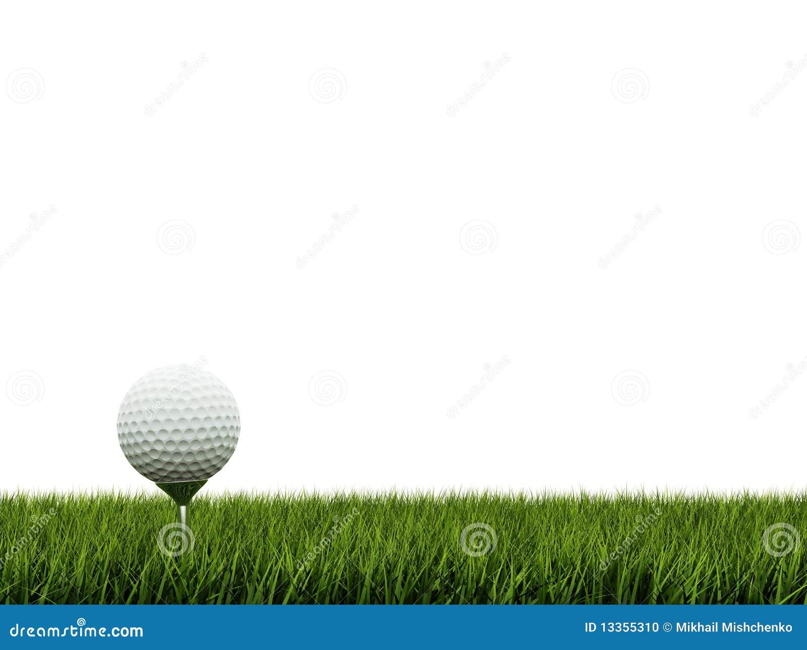golf ball border clip art - photo #27