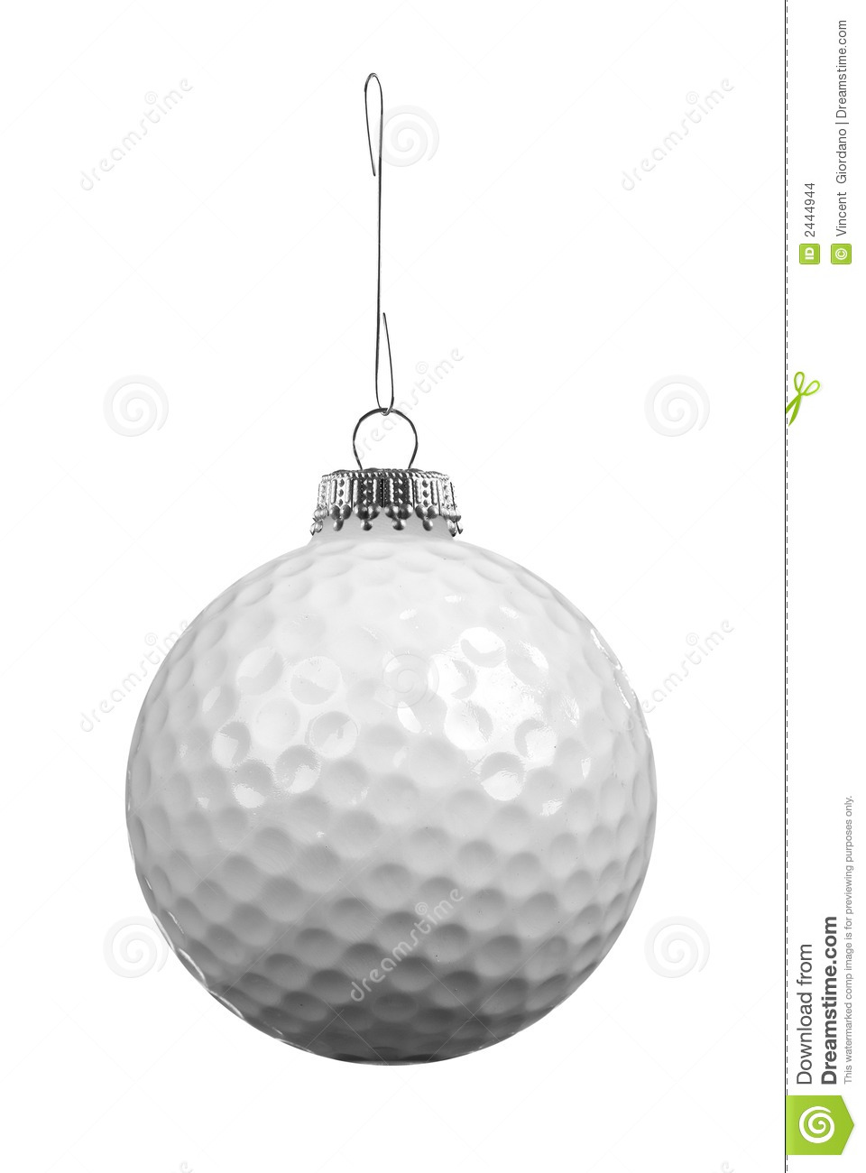 Golf Christmas Ornaments
