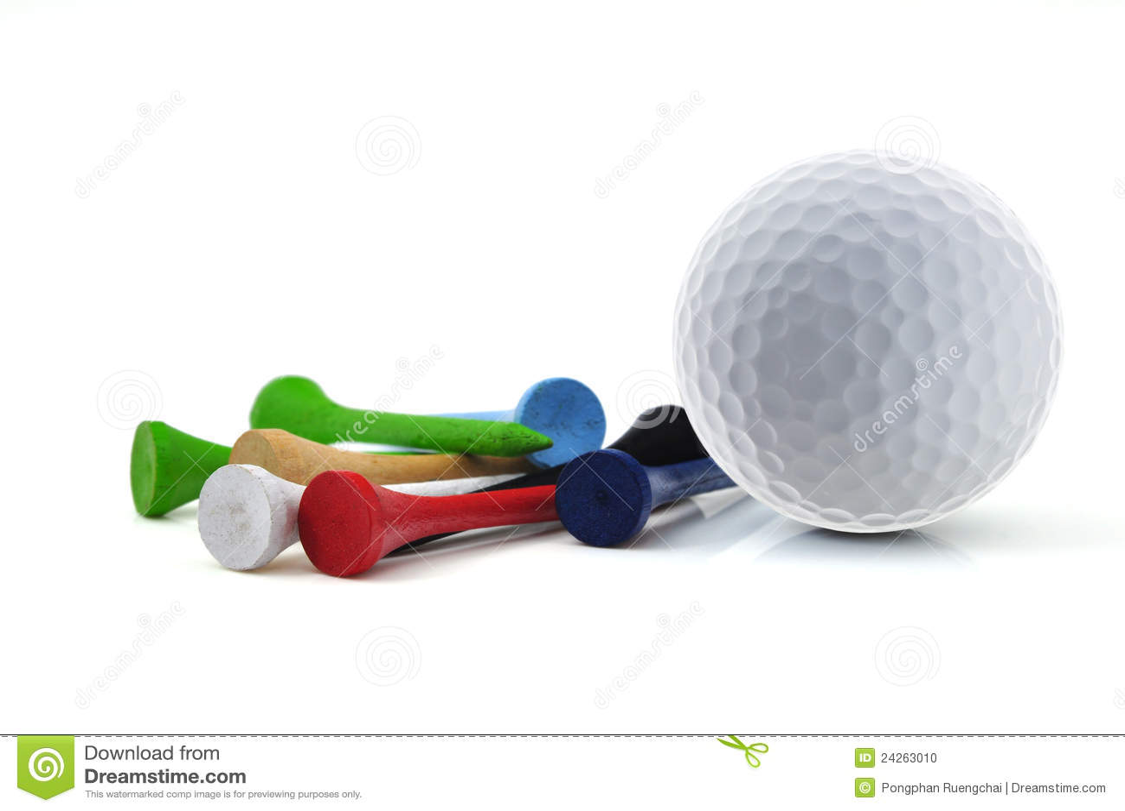 Golf Ball On Tee Clipart Golfclub Emmeloord