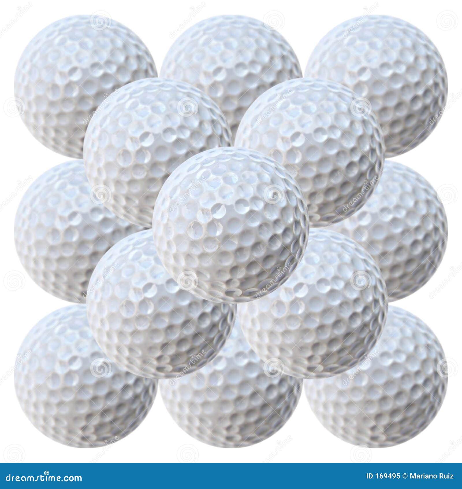 Golf Balls Pyramid (20.2 MegaPixels)