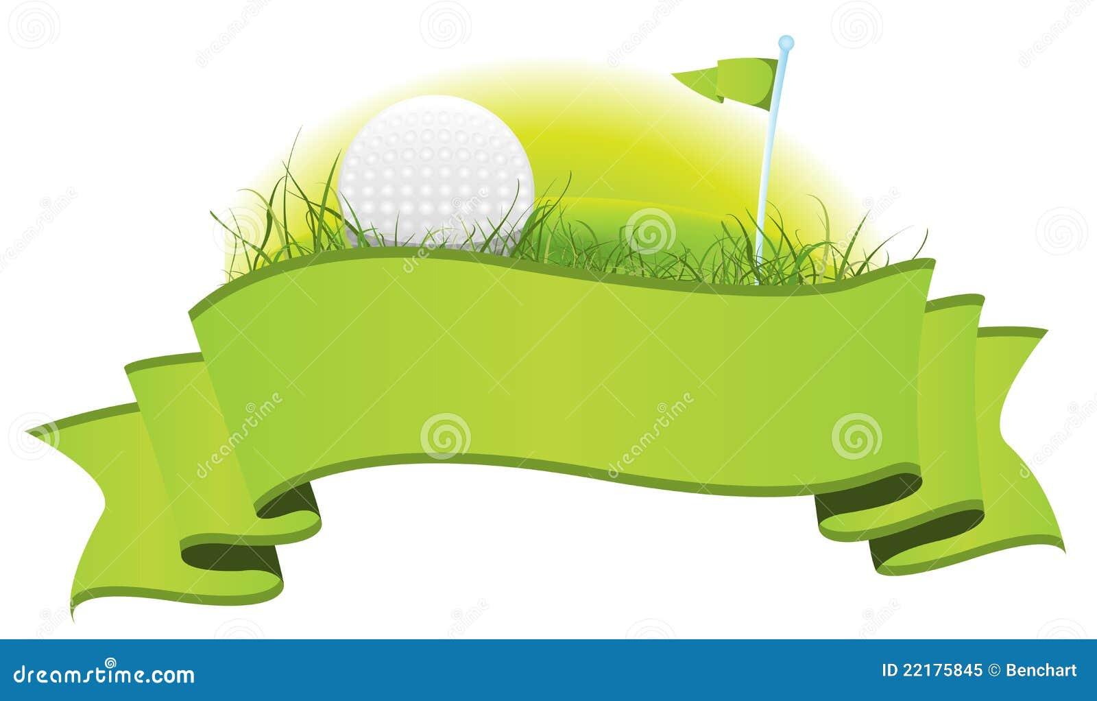 Golf Banner Stock Vector Illustration Of Sign Background 22175845