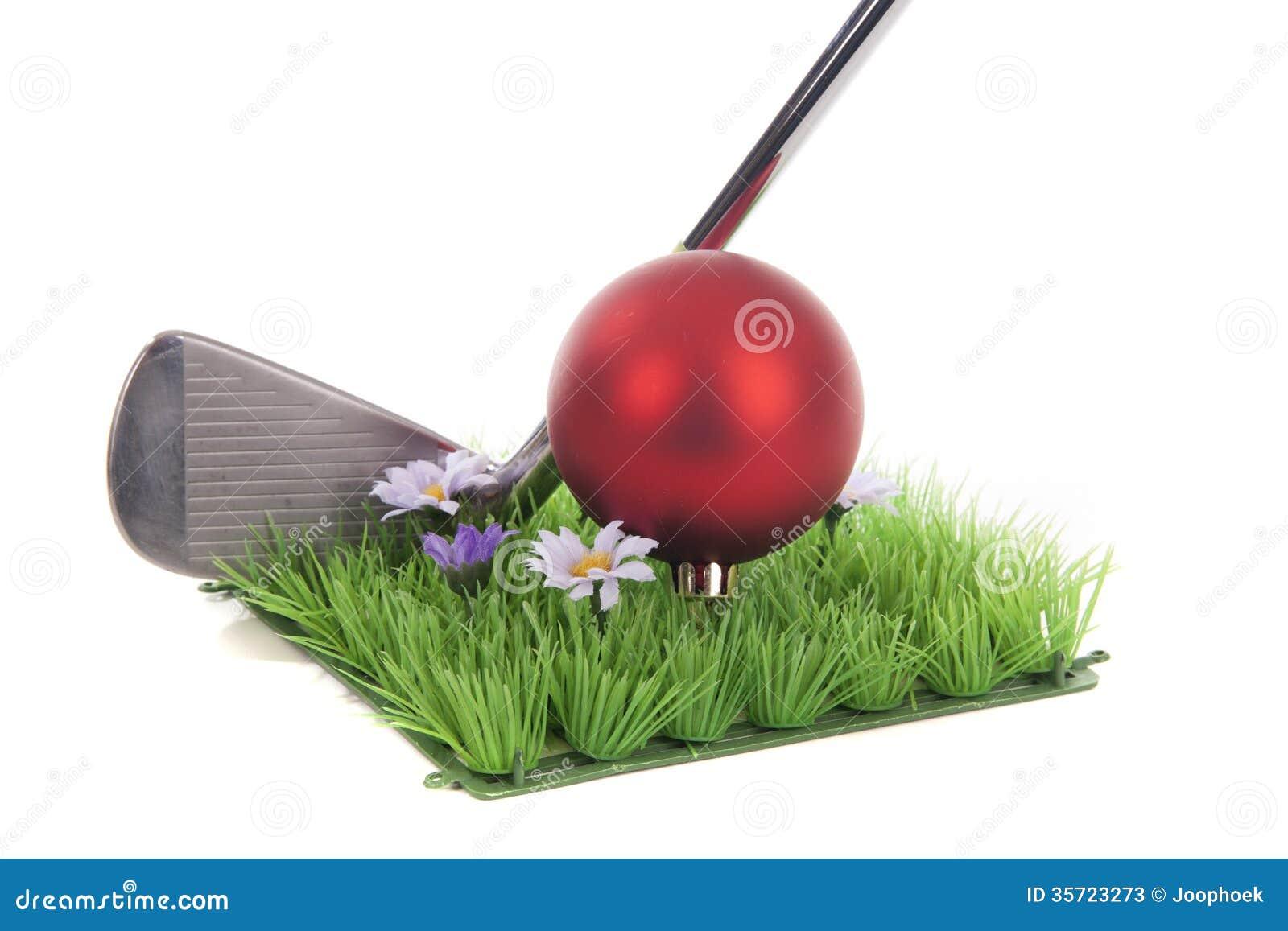 Golf And Christmas Stock Photos Image 35723273
