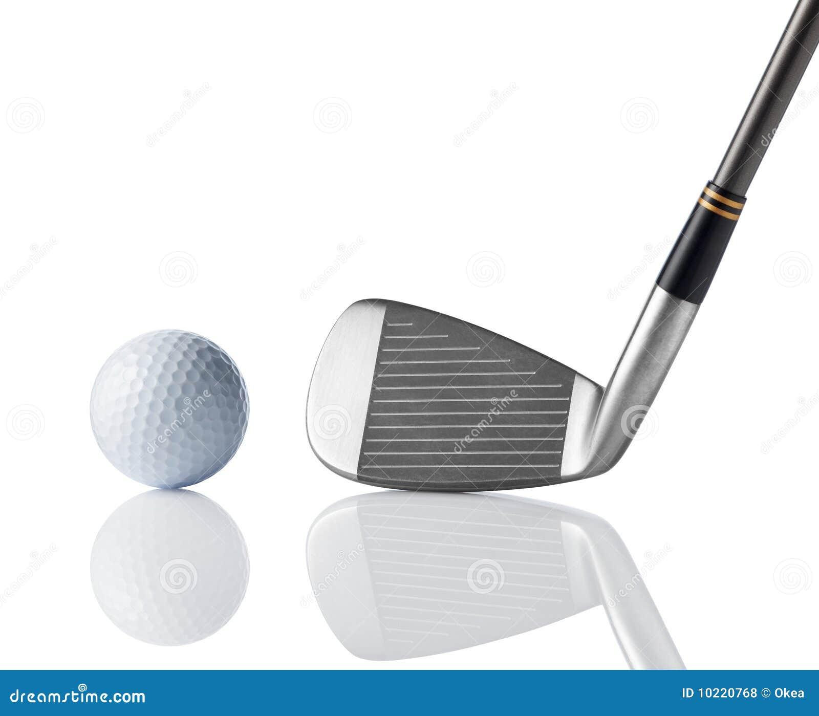 Golf Club And Golf Ball Royalty Free Stock Photos - Image: 10220768 Golf Ball On Tee Clipart