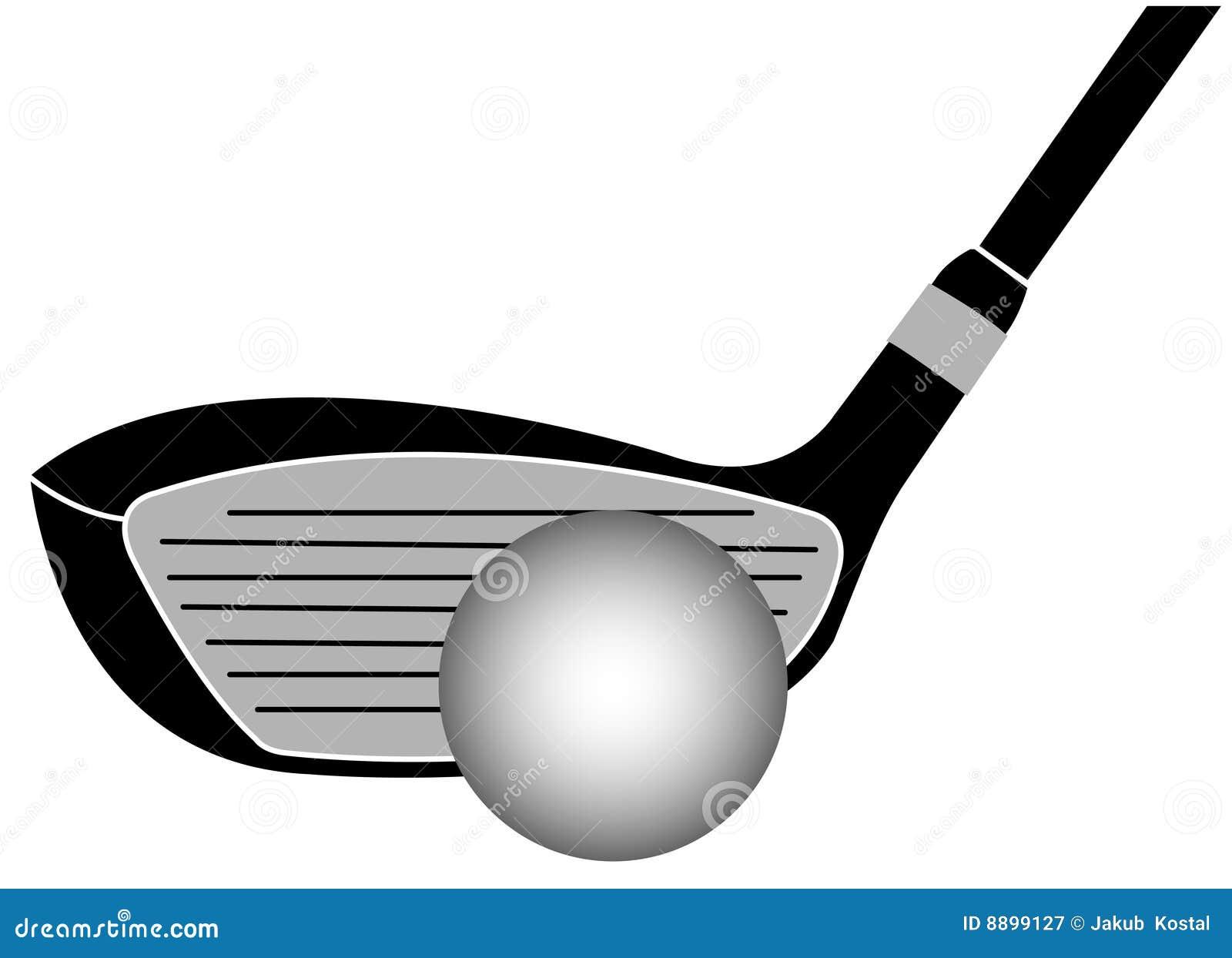 Royalty Free Stock Photography  Golf Club Iron Vector IllustrationGolf Club Iron