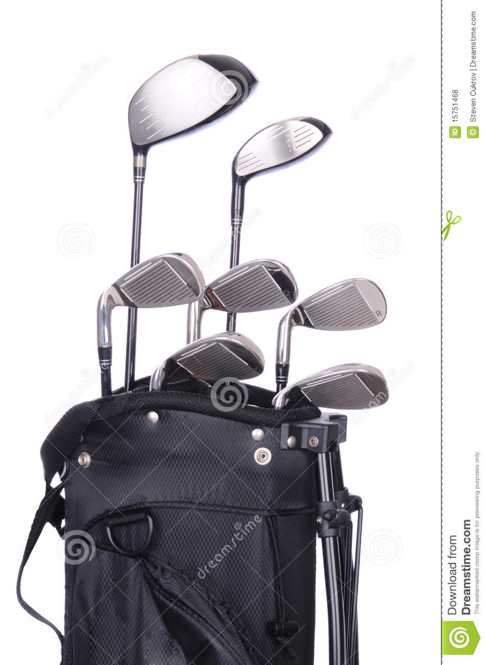 Golf Clubs in Bag