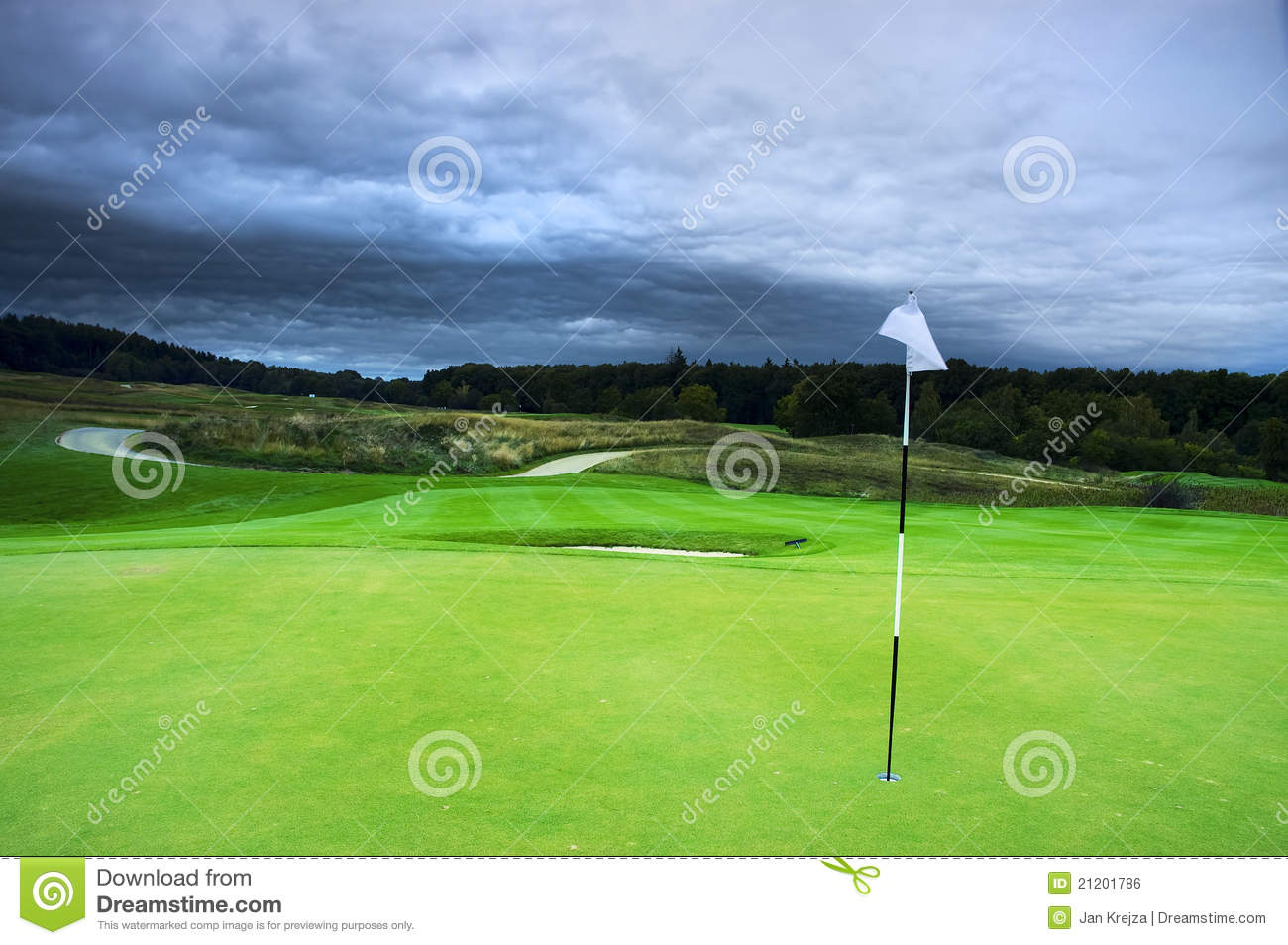 Download Golf course stock photo. Image of outdoors, country, activity - 21201786