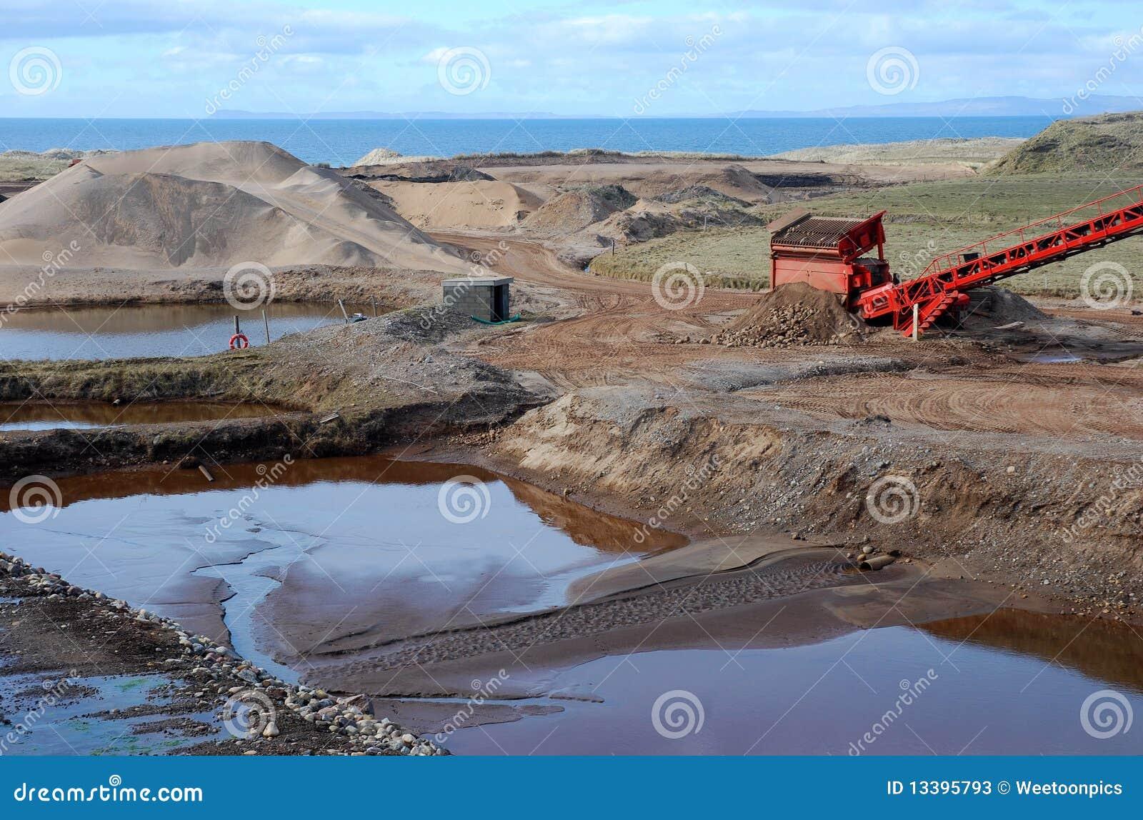 Golf course construction stock