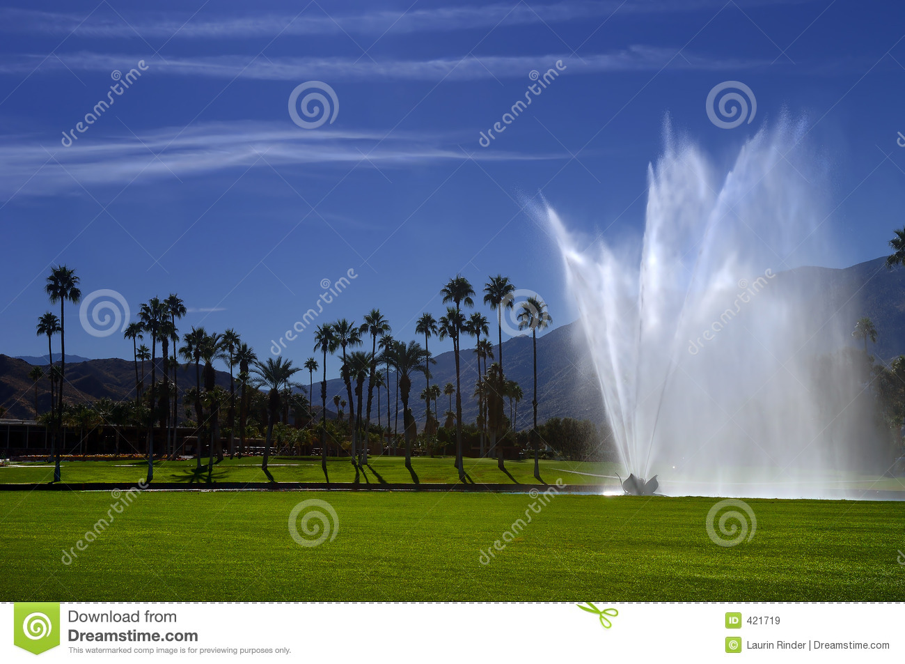 Golf Course Fountain