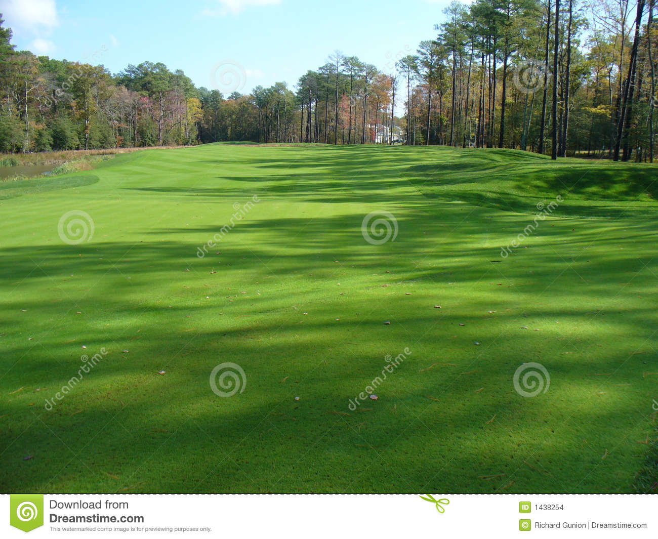 Golf Course Greens