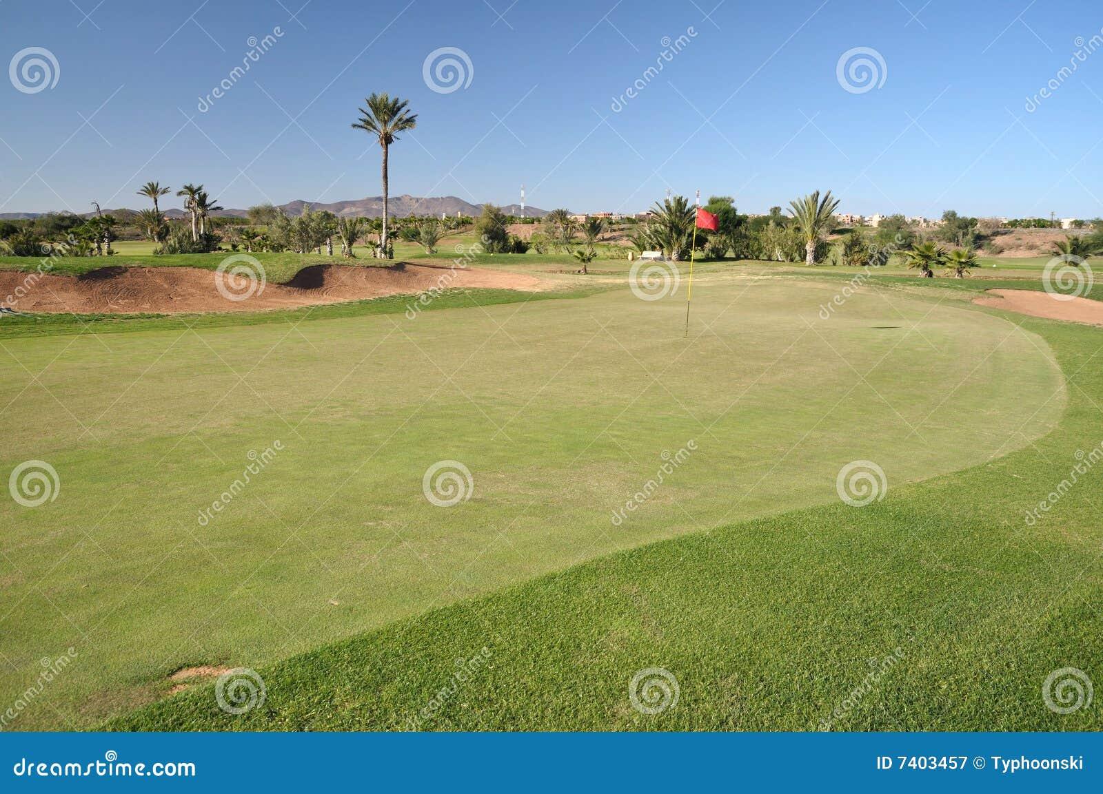 Golf course in Marrakech