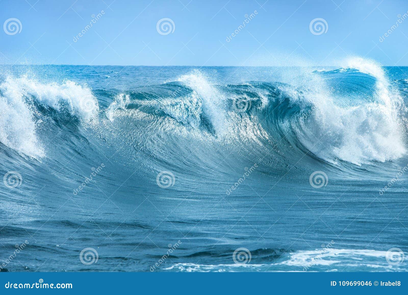 Golf in de Atlantische Oceaan