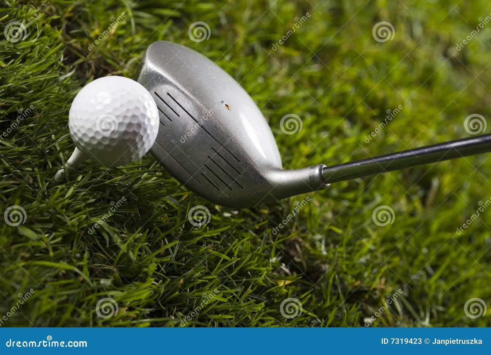 Golf, driver e sfera
