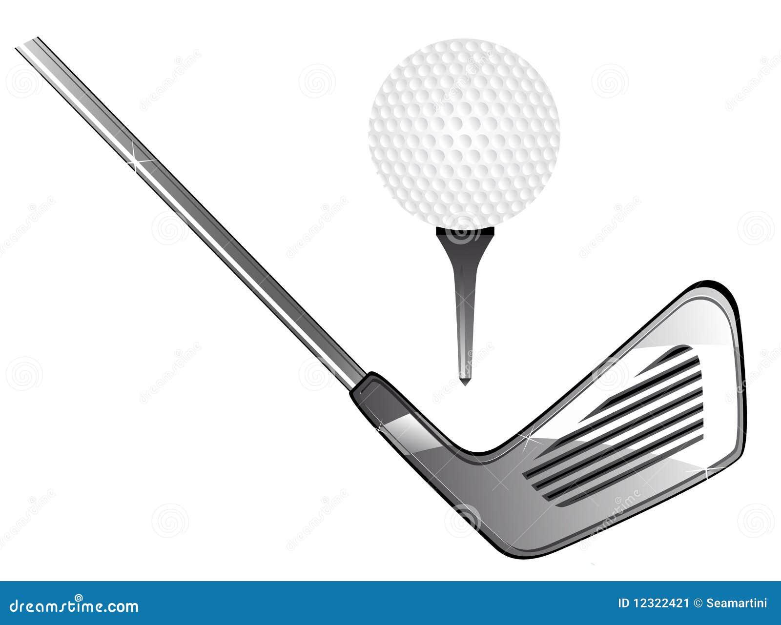 Golf Equipment Stock Image - Image: 12322421