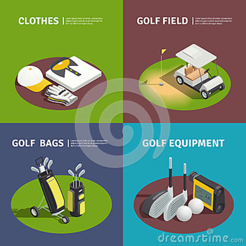 Flagstick Cartoons, Illustrations & Vector Stock Images