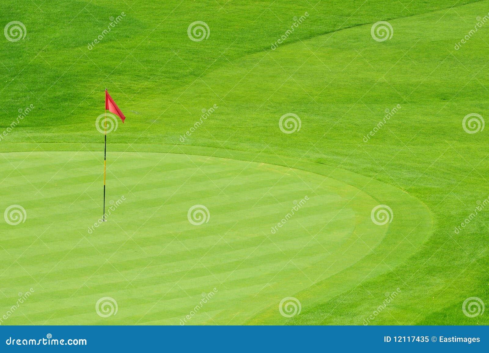 Golf Green Royalty Free Stock Photo Image 12117435